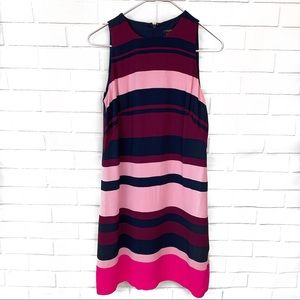 Ann Taylor Factory • Purple and Pink Stripe Dress